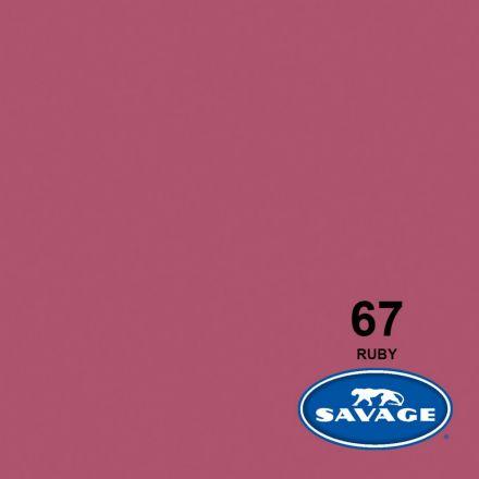 SAVAGE 67-1253 WIDETONE SEAMLESS BACKGROUND PAPER RUBY (A2 1.35M X 11M)