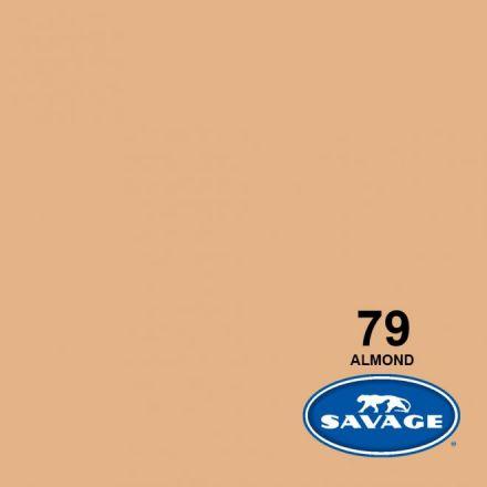 SAVAGE 79-1253 WIDETONE SEAMLESS BACKGROUND PAPER ALMOND (A2 1.35M X 11M)