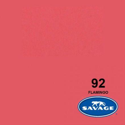 SAVAGE 92-1253 WIDETONE SEAMLESS BACKGROUND PAPER FLAMINGO (A2 1.35M X 11M)