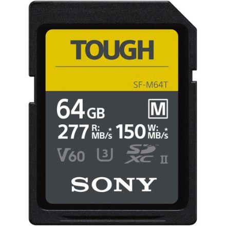 SONY SF-M64T/T1 64GB M TOUGH UHS-II SDXC SD 277/150 MB/S