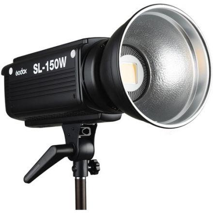 "GODOX SL150W LED VIDEO LIGHT WITH GODOX PARABOLIC DEEP SOFTBOX 90CM + GODOX UB-008 40""(101CM) AND MIRCOPRO LS8008K STAND BUNDLE OFFER"