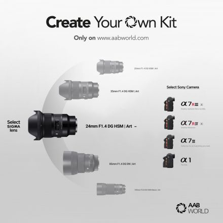 Build Your Own Sony Mirrorless Camera with Sigma Lens Kit