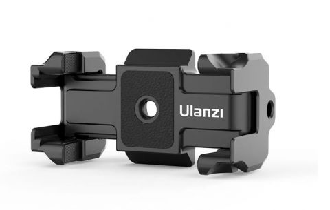 ULANZI ST-15 (2-IN-1 ARCA SWISS QUICK RELEASE PLATE + FOLDABLE PHONE CLIP)