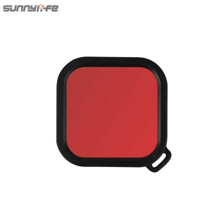 SUNNYLIFE IST-F19273-R DIVING FILTER FOR INSTA360 4K AND 1-INCH CAMERA (RED)
