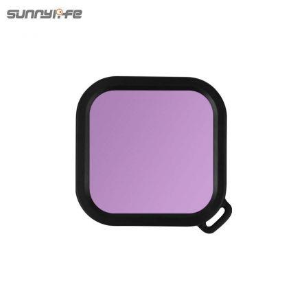 SUNNYLIFE IST-F19273-S DIVING FILTER FOR INSTA360 4K AND 1-INCH CAMERA (LIGHT MAGENTA)