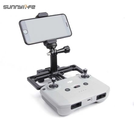 SUNNYLIFE TY-Q9277 2 IN 1 REMOTE CONTROLLER MOBILE PHONE HOLDER WITH SUNHOOD FOR MAVIC AIR 2 / MAVIC MINI