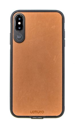LEMURO CA-IXSM-BRN-LE PHONE CASE FOR IPHONE XS MAX