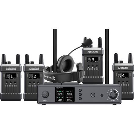 HOLLYLAND MARS T1000 1000FT FULL-DUPLEX WIRELESS INTERCOM SYSTEM