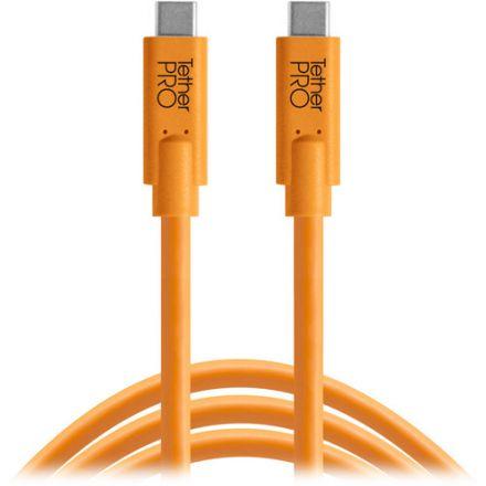 TETHER TOOLS CUC03-ORG USB-C TO USB-C, 3' (.9M)