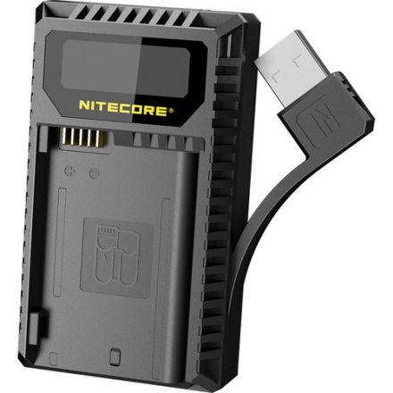 NITECORE UNK2 DUAL SLOT USB CHARGER (NIKON EN-EL15 BATTERIES)