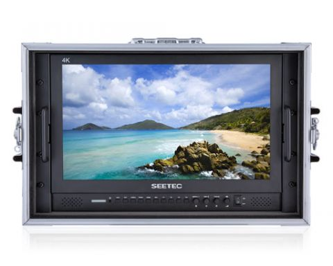 """SEETEC P173-9HSD-CO 17.3"""" BROADCAST LCD MONITOR WITH SUITCASE"""