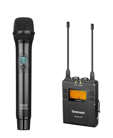 SARAMONIC UWMIC9 KIT4 RX9+HU9 UHF WIRELESS MICROPHONE KIT (RX9+HU9)