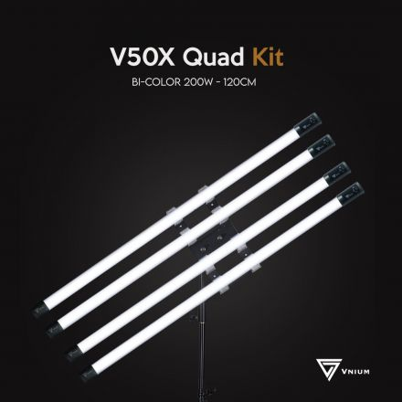 VNIUM V50X TUBE LIGHT QUAD KIT