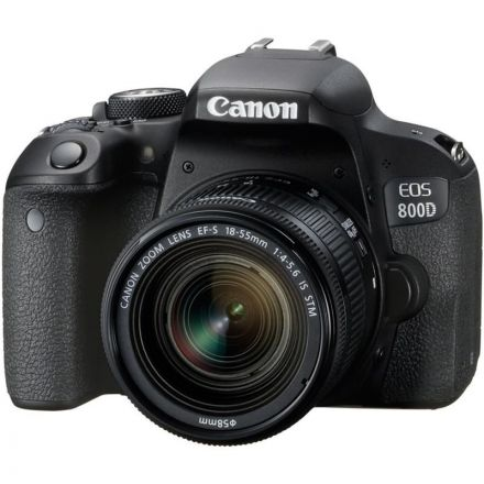 CANON CAMERA EOS 800D KIT WITH CANON LENS 50MM F1.8 BUNDLE OFFER
