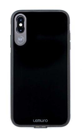 LEMURO CA-IXSM-BLK-GL PHONE CASE FOR IPHONE XS MAX