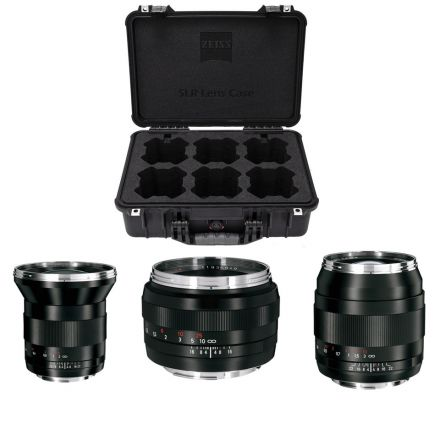 ZEISS ZE SLR LENS CASE SET FOR 3-CANON EF MOUNT