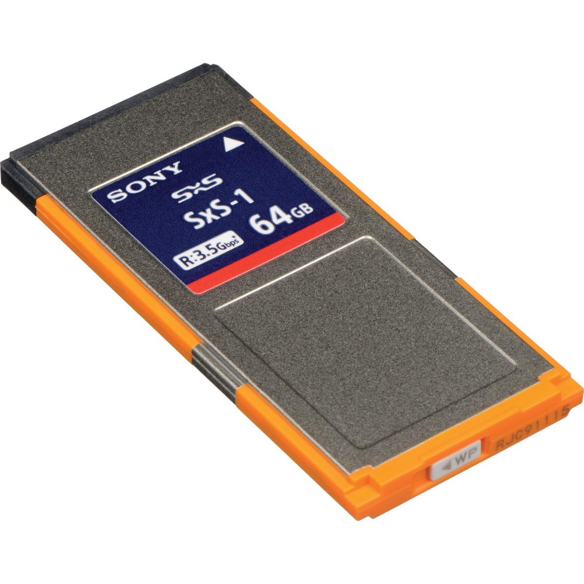 SONY SBS-64G1C 64GB SXS-1 MEMORY CARD