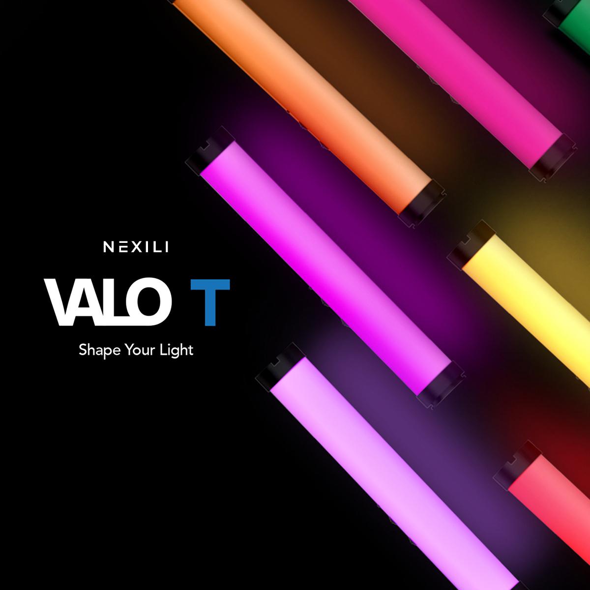 NEXILI VALO T RGB LED TUBE LIGHT 3200K-6200K