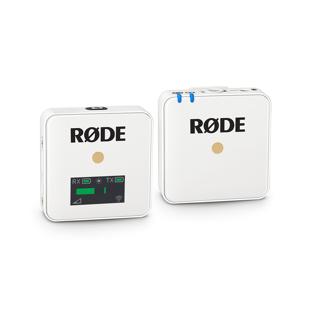 RODE WIGOW WIRELESS COMPACT DIGITAL MIC 2.4 GHZ (WHITE)
